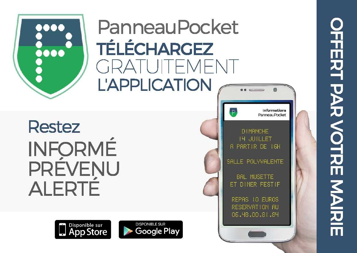 PANNEAUPOCKET TÉLÉCHARGER APPLICATION