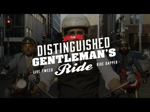 Distinguished Gentleman's Ride à la zone de Loisirs